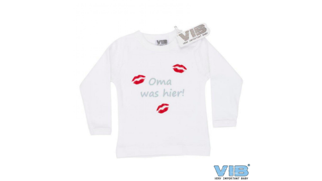 T-Shirt 'Oma was hier!' 6M